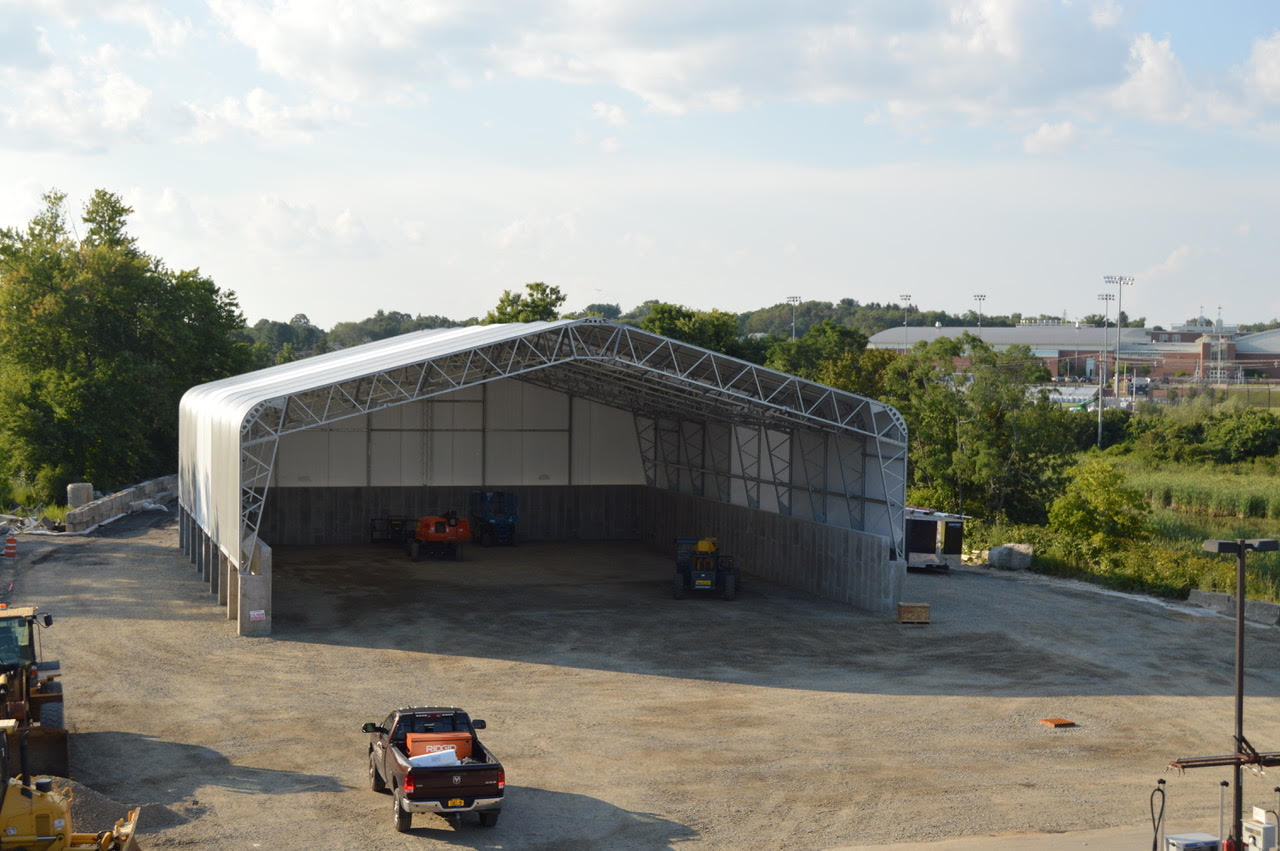 Low Slope Fabric Building