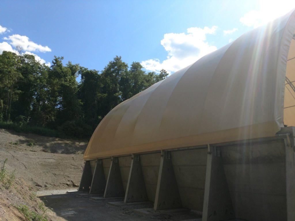 Salt Storage building