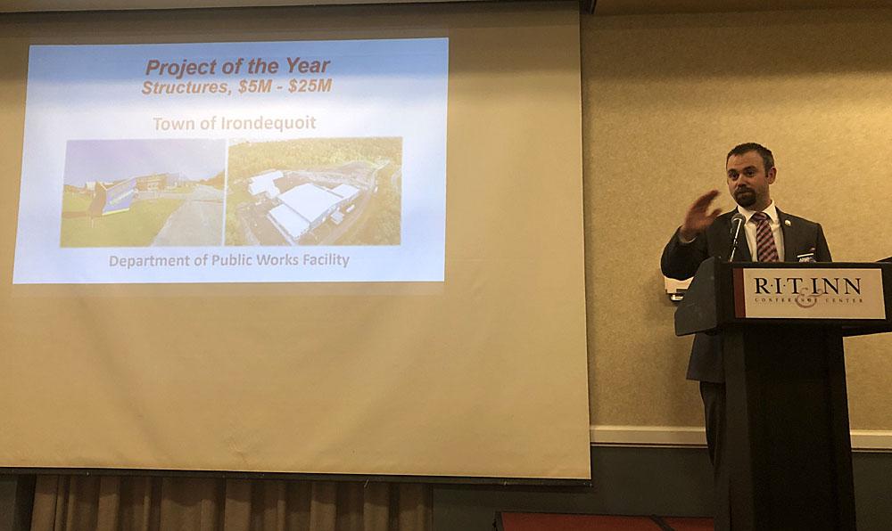 APWA (American Public Works Association) Genesee Valley Chapter Award Winner