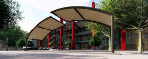 Hybrid Building Solutions Partners with Custom Fabric Structures