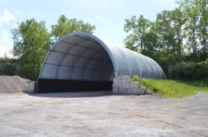 Calhoun 52'x60' CC salt structure in Town of Torrey NY