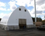Fabric Building for Recycling Storage