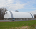 72 x 160 Calhoun HT Salt Storage Building